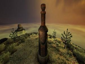 Il primo totem...ha inizio il viaggio
