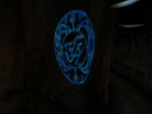 Il simbolo di Yeesha mi accompagnerà per tutto il viaggio, a ricordarmi da dove sono giunto e fino a dove arriverò